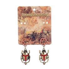 Beatles Drop Earrings Steampunk Style