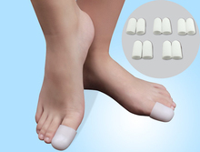 10Pcs Silica Gel Foot Corn Blisters Remover Toe Tube Relief Foot Bunion Pain Toe Finger Protector Caps Soft Cushion Calluse C169(China (Mainland))