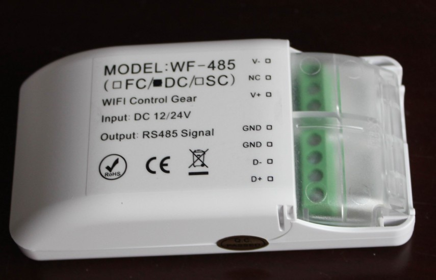 2 channel DMX WIFI Master controller,DMX512 signal output;used for color temperature adjustable lights(China (Mainland))