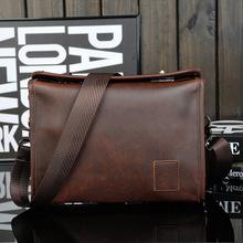 2015 original leather handbag leisure retro shoulder bag Messenger bag computer bag