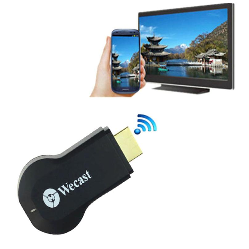 Wecast Wifi Display Receiver android mini pc tv stick Miracast adapter Dongle wireless hdmi Support samsung iphone DLNA Airplay(China (Mainland))