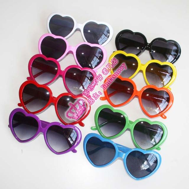 Studio props heart glasses heart-shaped glasses love glasses heart glasses full