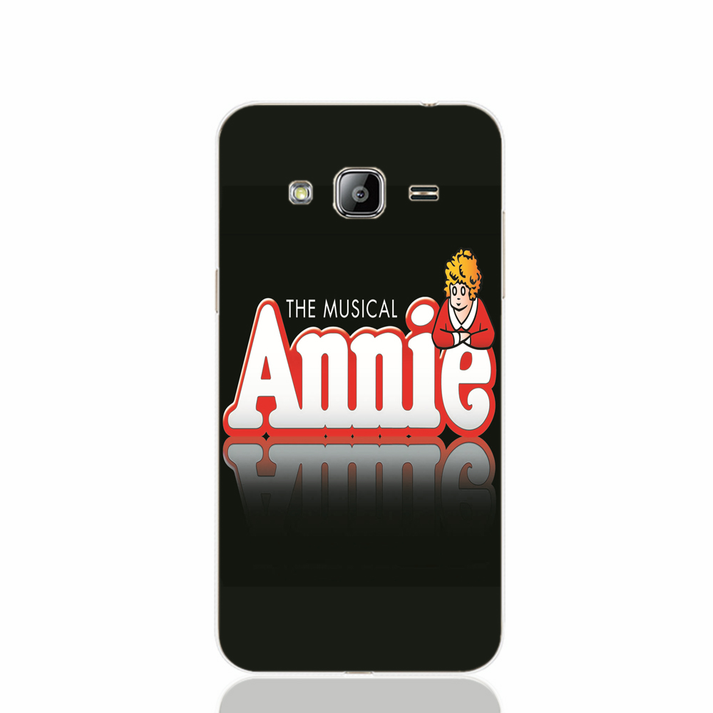 16026 Annie Broadway Musical logo cell phone case cover for Samsung Galaxy J1 ACE J5 2016 J7 N9150(China (Mainland))