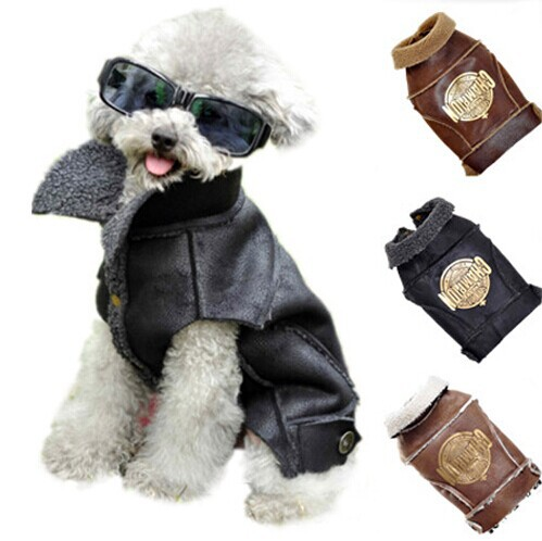 Pet Dog Clothes Winter Urban Boutique Thick Clothing for Dogs and Pets Little and Small Designer Dog Costumes(China (Mainland))