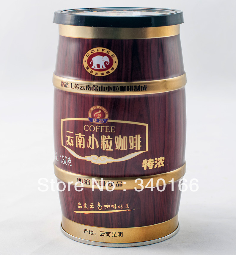 Free Shipping Small grain coffee instant three in canned coffee espresso coffee