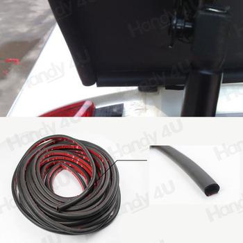 "(D15mm) Car Door Auto Noise Universal Rubber Seal Strip Weather-strip 120"" 3m"