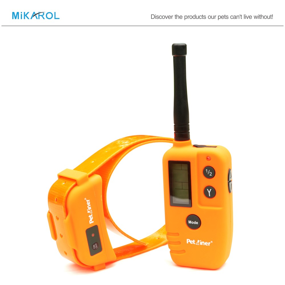 New Remote Dog Training Collar Waterproof Rechargeable Collar Electric Dog Shock with 2 in 1 Dog Trainer Large(China (Mainland))