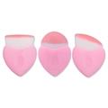 2017 NEW Pink Mermaid fish tail Heart Shaped Makeup Brush for Foundation Liquid Powder Blush Blending