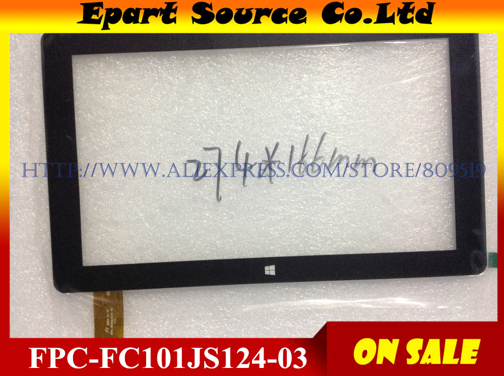 Free shipping 10.1 inch WIN8 system capacitance handwriting Tablet touch screen touch screen FPC-FC101JS124-03 274x166mm(China (Mainland))