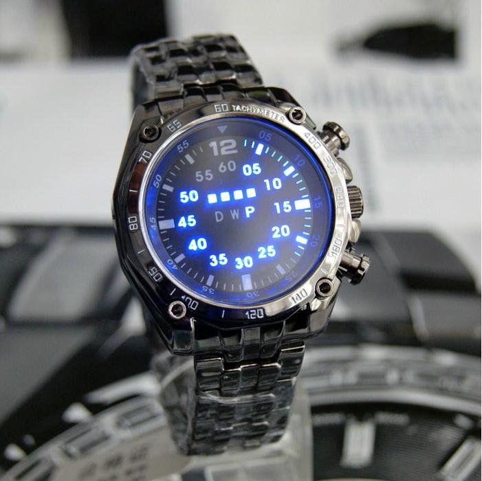 2016-Hot-TVG-Men-Digital-Watch-Stainless-Steel-Strap-LED-Light-Round-Case-Water-Resistent-Night1