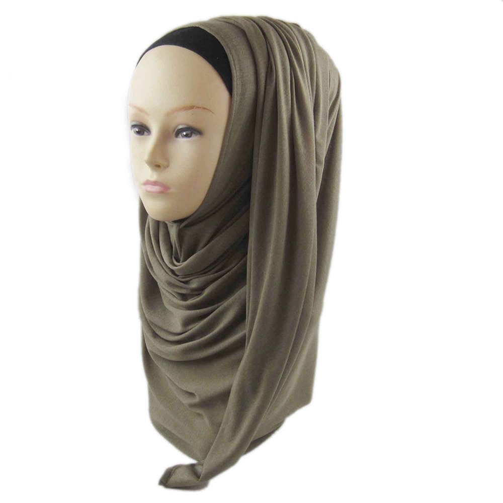 2016 New Light Weight Modal Jersey Polyester Scarf Shawls Cotton Solid Women Hijabs Plain jersey abaya,Colors Selection, PH005,(China (Mainland))