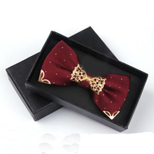 Formal Skinny Bow Tie For Men's Suit Groom Wedding Party Polyester Bowknot Cravat Business Bowtie Metal Neck Ties Accessories(China (Mainland))