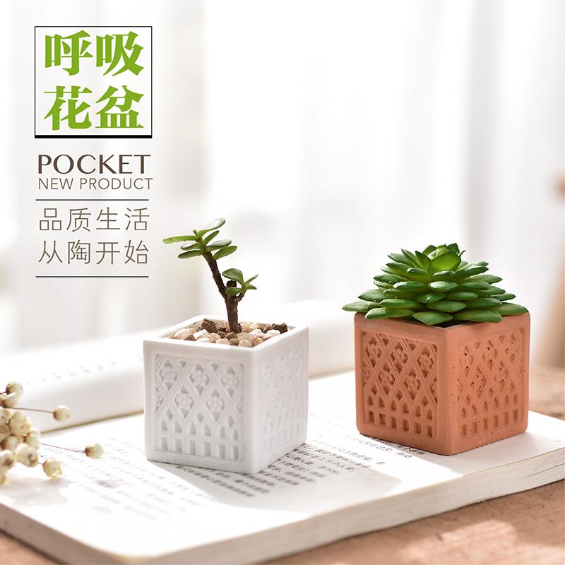 Compra macetas de flores de porcelana online al por mayor - Macetas de porcelana ...