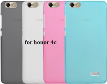 Free Shipping honor 4c soft case Soft TPU Gel Cover Case Skin For Huawei Honor 4C (4Colors to choose) wholesale(China (Mainland))
