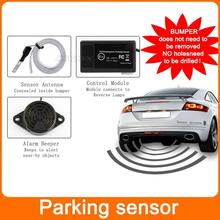 Car Reverse Backup Radar Car Electromagnetic parking sensor parking safety Parking Assistance System no holes no drilled(China (Mainland))