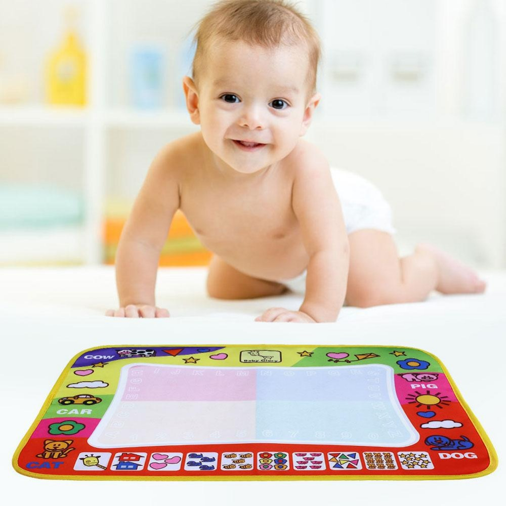 45.5x29cm Children Doodle Drawing Toys 1 Painting Mat + 2 Water Drawing Pen Child's drawing board/drawing mat(China (Mainland))