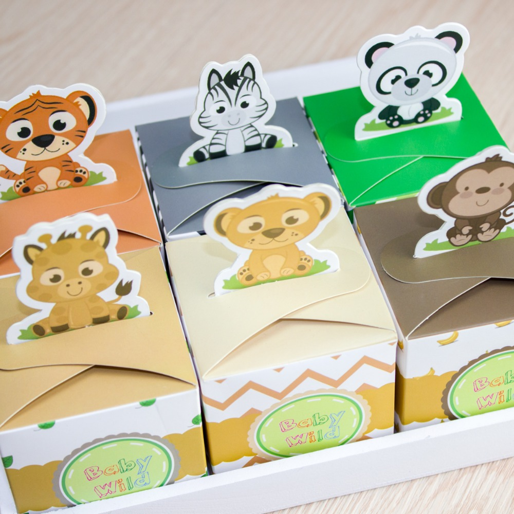 buy 12pcs baby shower favors safari animal wild favor