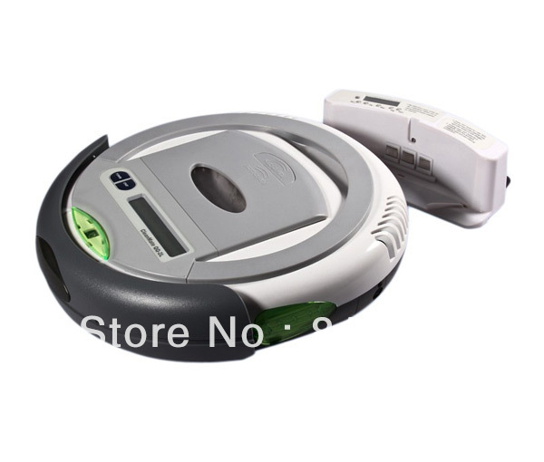 TOP-GRADE robot vacuum cleaner (robot pembersih)  UV light,auto-charge, it can clean the corner of your room<br><br>Aliexpress