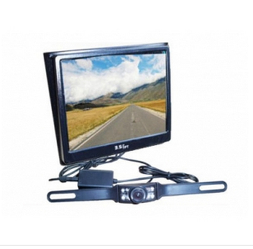 3.5 Inch 2.4G Wireless Monitor For Rearview System Reversing CCTV Camera(China (Mainland))