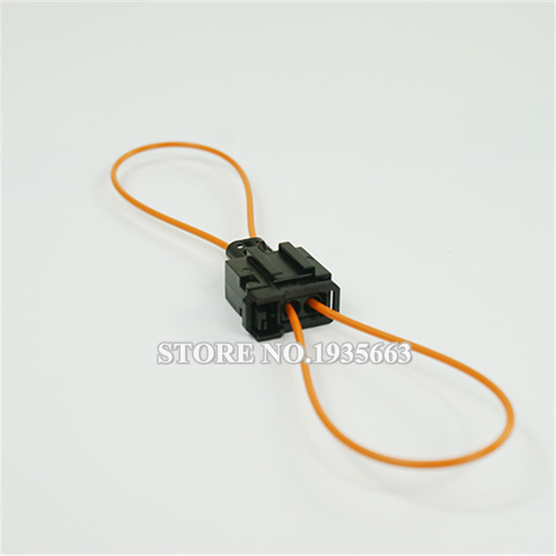 High Quality MOST Diagnostic Tool Female To Male Connector Optic Fiber Car Plug Cable Used For Audi For Luxury Cars(China (Mainland))
