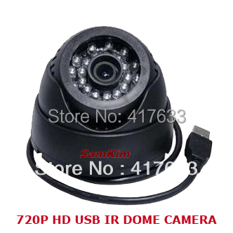 720P IR 15m Night Use USB Eyeball Dome Camera w/Motion Detection Record Home CCTV Video Security DVR Camera& TF SD Card Slot - NOVOXY TECHNOLOGY LIMITED store