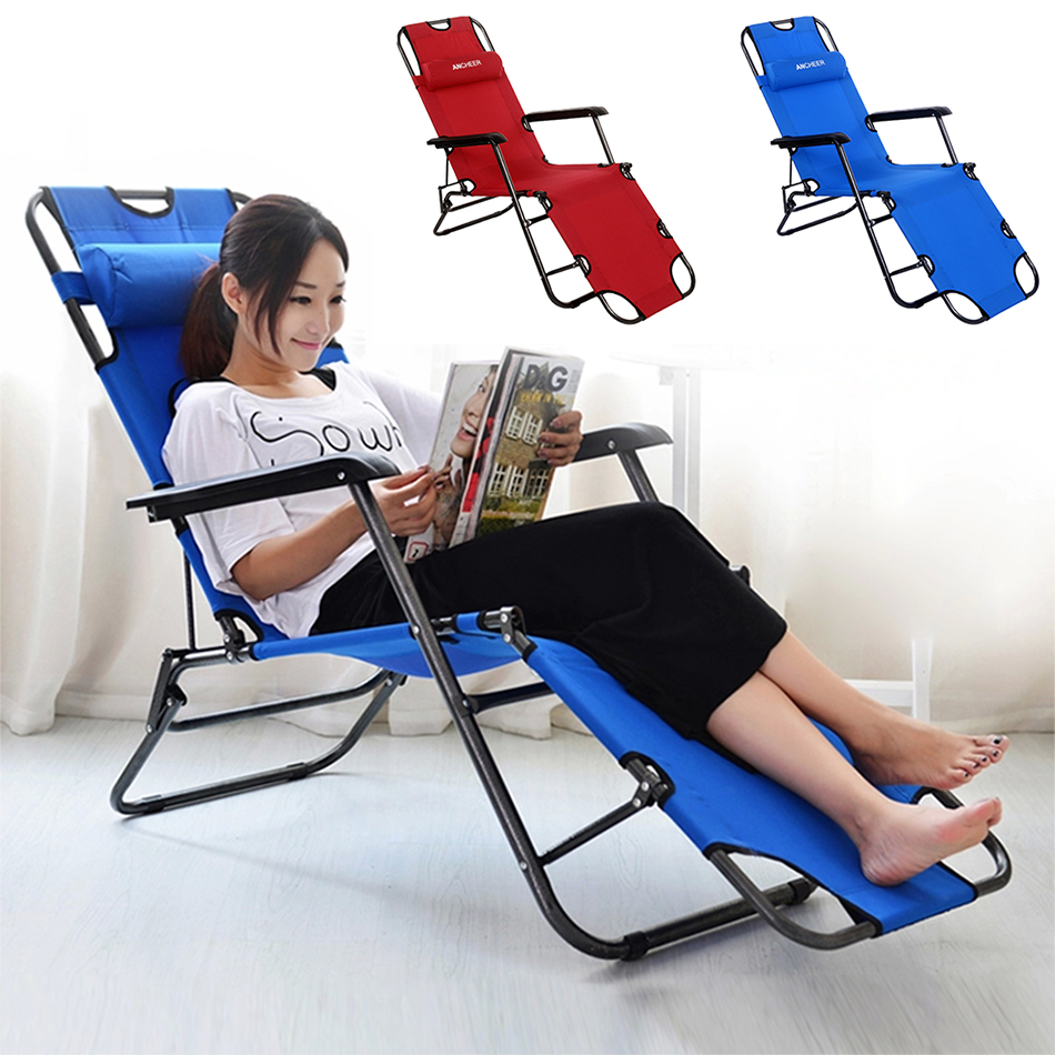6 Lounging Chairs For Outdoors Outdoor Furniture 178cm Deck Chair Longer Leisure Folding Beach Chair