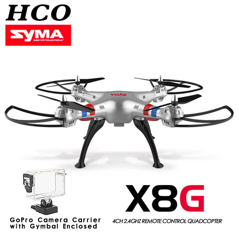New Arrival Syma X8G Drone without camera Applicable for GoPro Applicable Headless Big rc copter hobby grade RC Quadcopter(China (Mainland))