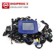 DHL free Digiprog III Digiprog 3 Odometer Programmer V4.94 Software Version Mileage correction tool with all cables full set(China (Mainland))
