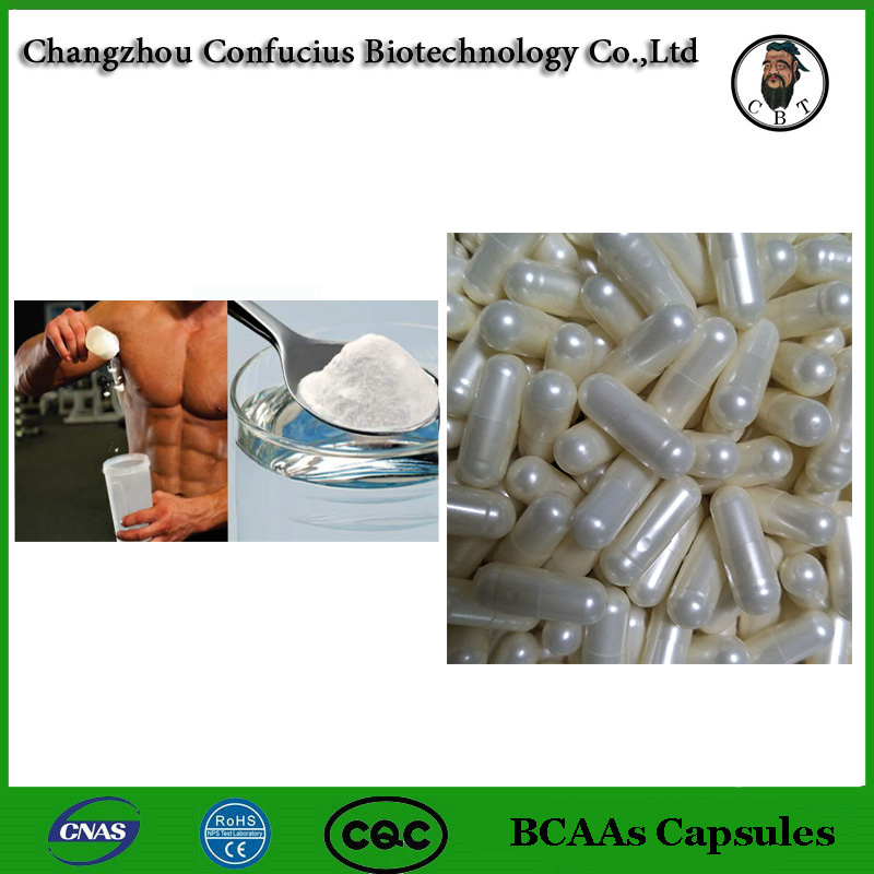 Hot Sale BCAAs Capsules 160 caps Strong Muscle Nutrition Sports Dietary Supplements Branched Chain Amino Acid 2:1:1