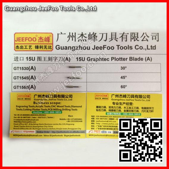 30Degree Graphtec CB15U blade cutting plotter blade vinyl ,plotter cutting tools ,Plotter cutting blade(China (Mainland))
