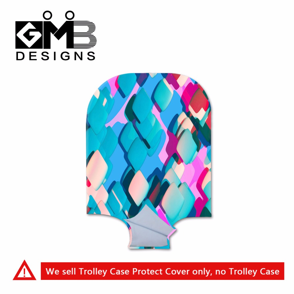 New clear luggage covers for girls Colorful suitcase protective cover for ladies art waterproof suitcase covers for luggage bag<br><br>Aliexpress