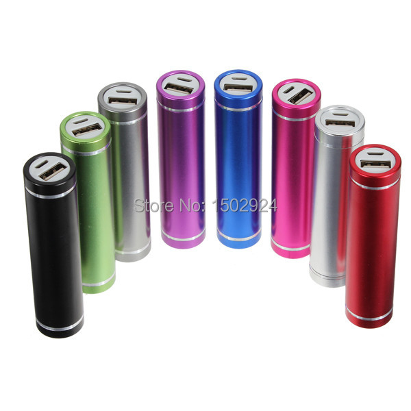 Colorful 2600mAh USB Power Bank External Battery Charger For iPhone 5 4 4S 3GS 3G For Samsung i9300 For HTC For Nokia Lumia 520(China (Mainland))