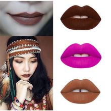 Women Girls Make Up Velvetine Stain Matte Lipstick Long Lasting Waterproof Sexy Lip Gloss Hot