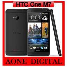 Original  HTC ONE M7 Android Quad Core  4.7 Inch  2G RAM GPS WIFI 4G Unlocked Mobile Phone Free  Shipping