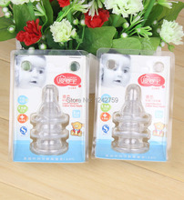 3pcs/card high quality baby nipple children bottle feeding products baby products wholesale 8030(China (Mainland))