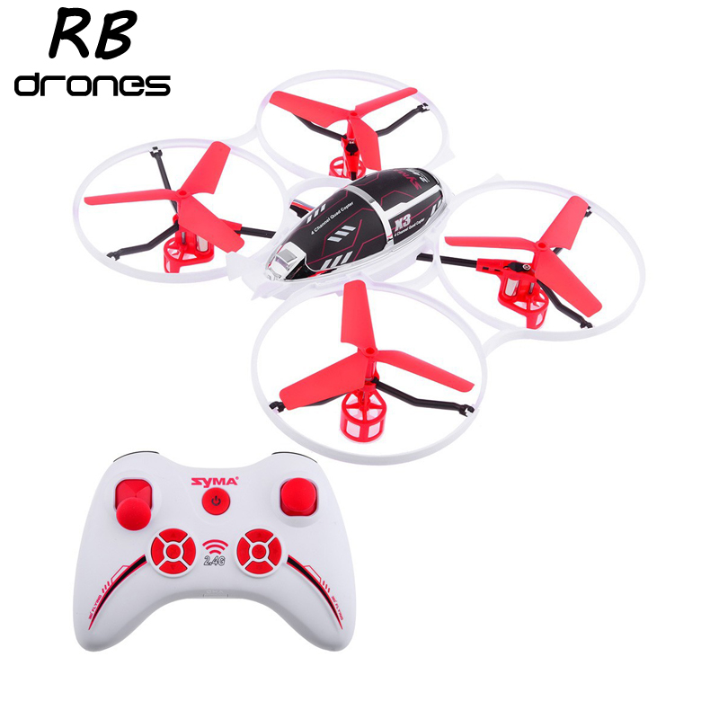 New Arrival Original SYMA RC Flying Toys 2.4G 4CH Remote Control Helicopter X3 Red Color Quadrocopter MiniDrone UFO Toys(China (Mainland))