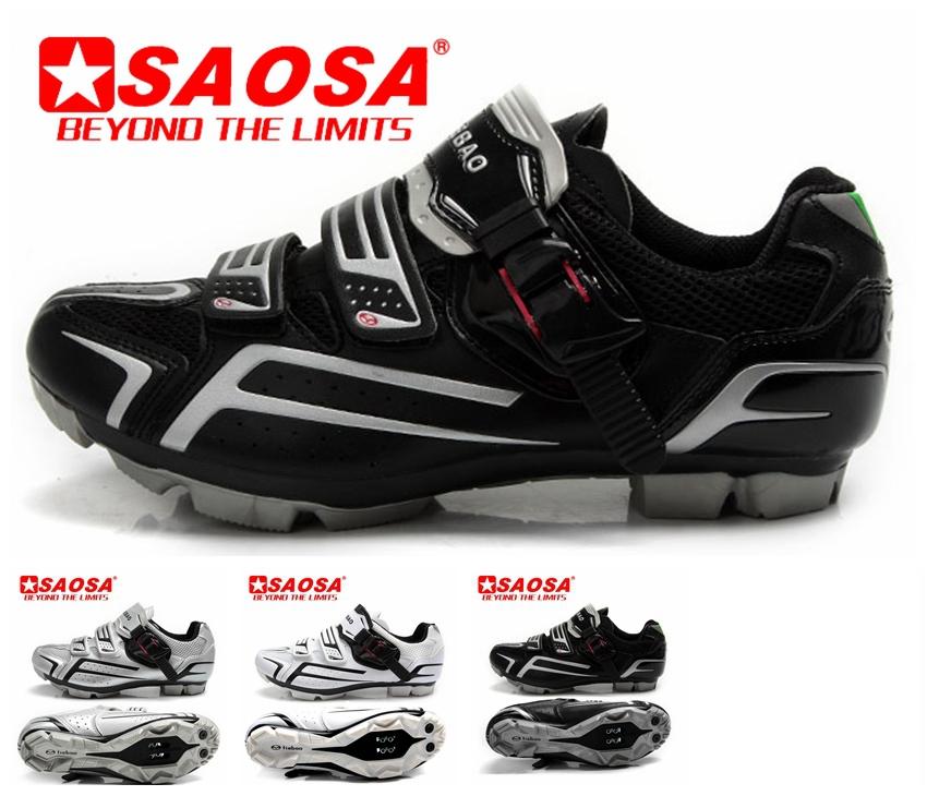 Для мужчин горный велоспорт обувь mtb спорт команда treck кроссовки кожа лучший бренд женщин велосипед обуви белый серебристый черный петля на липучке