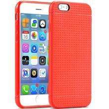 Чехол силиконовый, роскошь соты стиль ультратонкий тпу мягкий чехол для Apple iPhone 6 6 S телефон мешок для iPhone 6 4,7