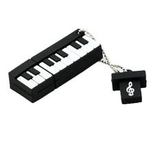 New piano USB Flash Drive Fashion music pendrive music pen drives 4GB 8GB 16GB 32GB 64GB usb disk free shipping