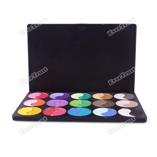 evertrust Full refund 30 Makeup Cosmetic Matte Colors Mineralize Powder Eyeshadow Palette Set perfectly(China (Mainland))