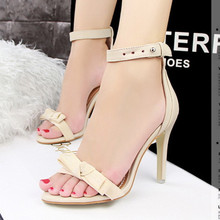 2015 Factory Discount Summer Clasical Dancing High Heel Sandals New arrived women party wedding Shoes Women ankle strap Sandal(China (Mainland))