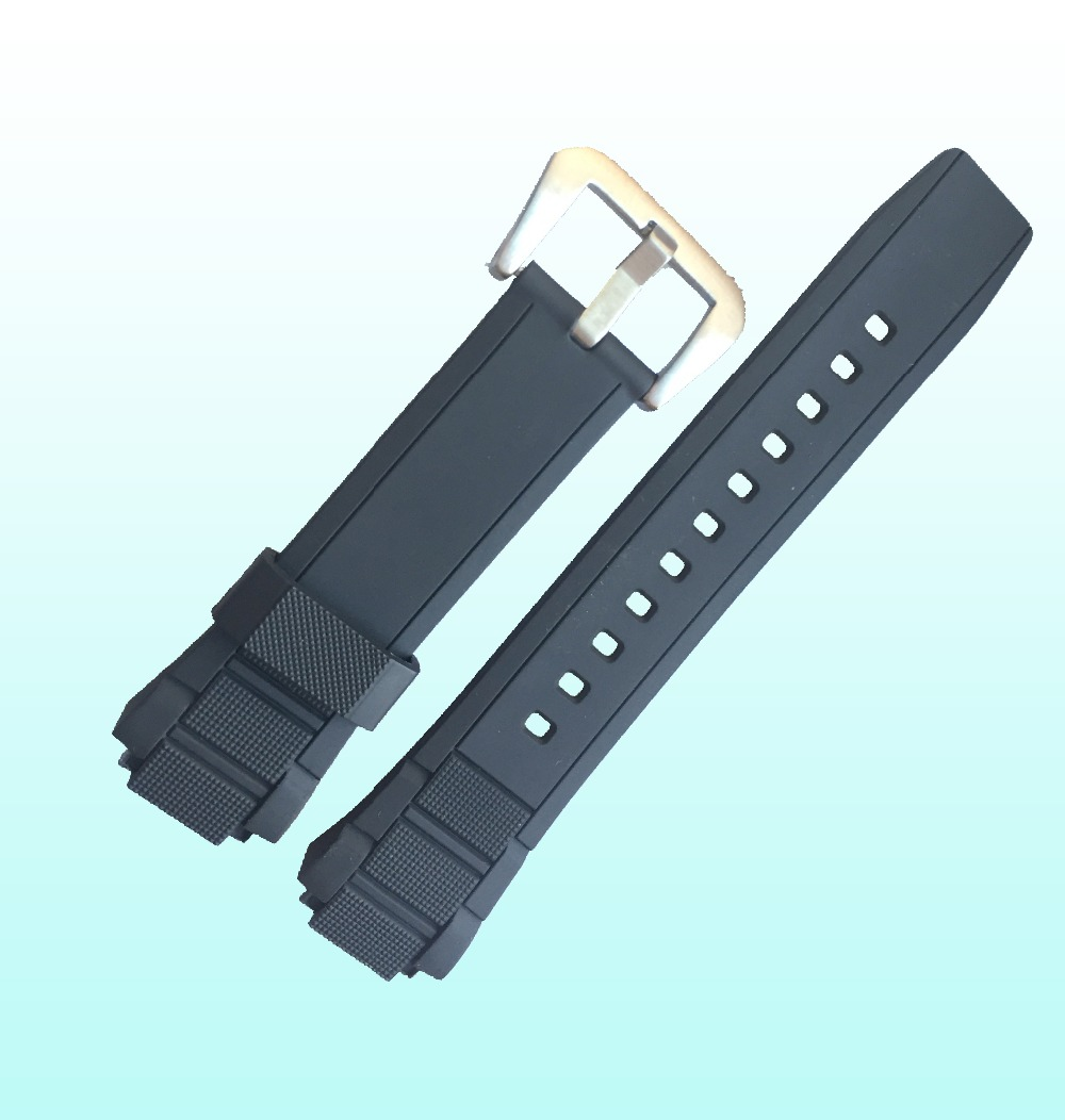 Bulge Rubber Replacement Strap for Casio 19mm Watch Accessories(China (Mainland))