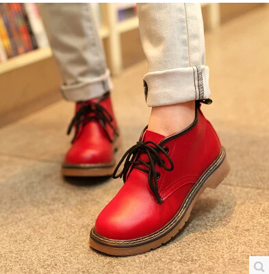2013 New Arrived  Brand Designer  Solid Color  Low Ankel  Genuine Leather   Womens Shoes Martin   Boots Motorcycle Boots<br><br>Aliexpress