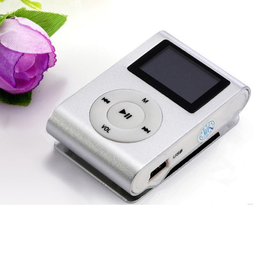 New LCD Screen Mini Clip Mp3 Player Electronic Products Sports Metal Mini MP3 Music Player Support 32GB Micro SD TF Card A29(China (Mainland))