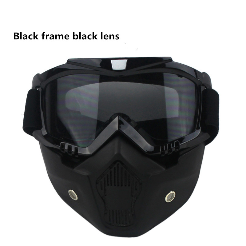 Hot sale Vcoros vintage helmet Mask Detachable Goggles scooter jet helmets goggles snow helmet goggles the same to BEON Mask(China (Mainland))