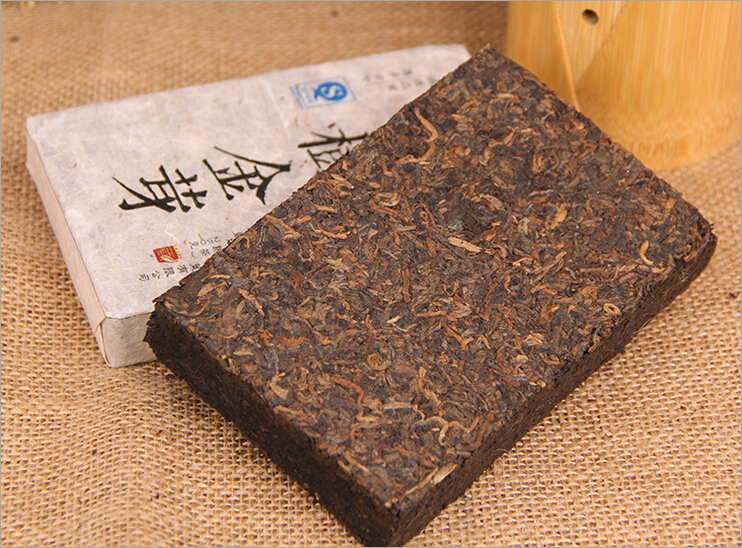 Chinese puer tea 250g silmming shu pu erh brick tea for wight loss yunnan
