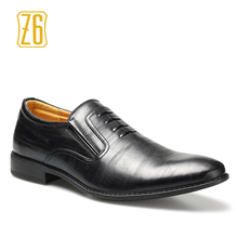 2016 men dress shoes Z6 Brand handmade comfortable soft driving leather shoes #W781-1(China (Mainland))