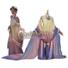 Custom Made Star Wars Costume Adult Star Wars Queen Amidala Halloween Carnival Cosplay Costume D0406