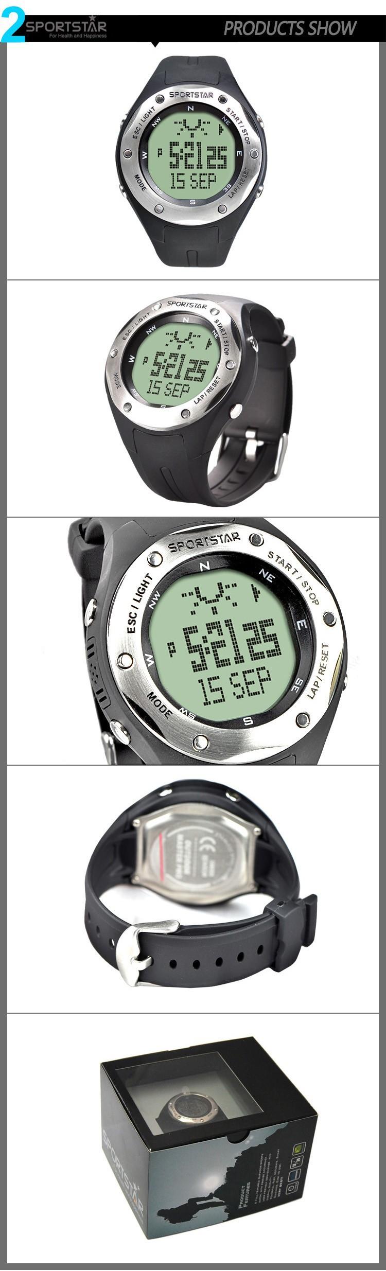SPORTSTAR Открытый Master Pro многофункциональный пешие прогулки лыжная смарт-цифровые часы