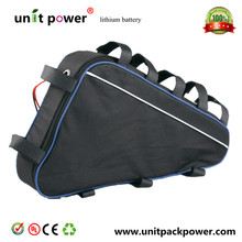Free customs duty  New arriver triangle battery pack lithium battery 48v 20ah electric bike battery(China (Mainland))